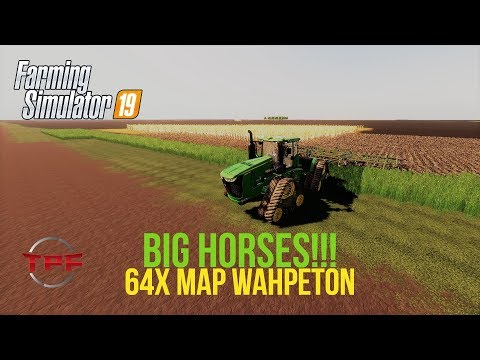 LIVE Farm Sim 19! 64X MAP Wahpeton! Tillage TIME!! By North Dakota MAM