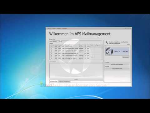 AFS Mailmanagement Für Tobit David.fx 12