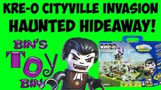 Kre-o Cityville Invasion Haunted Hideaway Building Playset Review! By Bin's Toy Bin