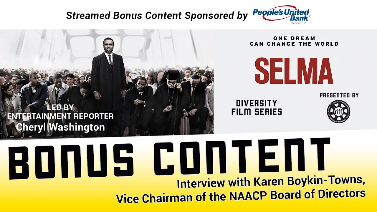 Selma Bonus Content: Interview with NAACP Vice Chair Karen Boykin-Towns