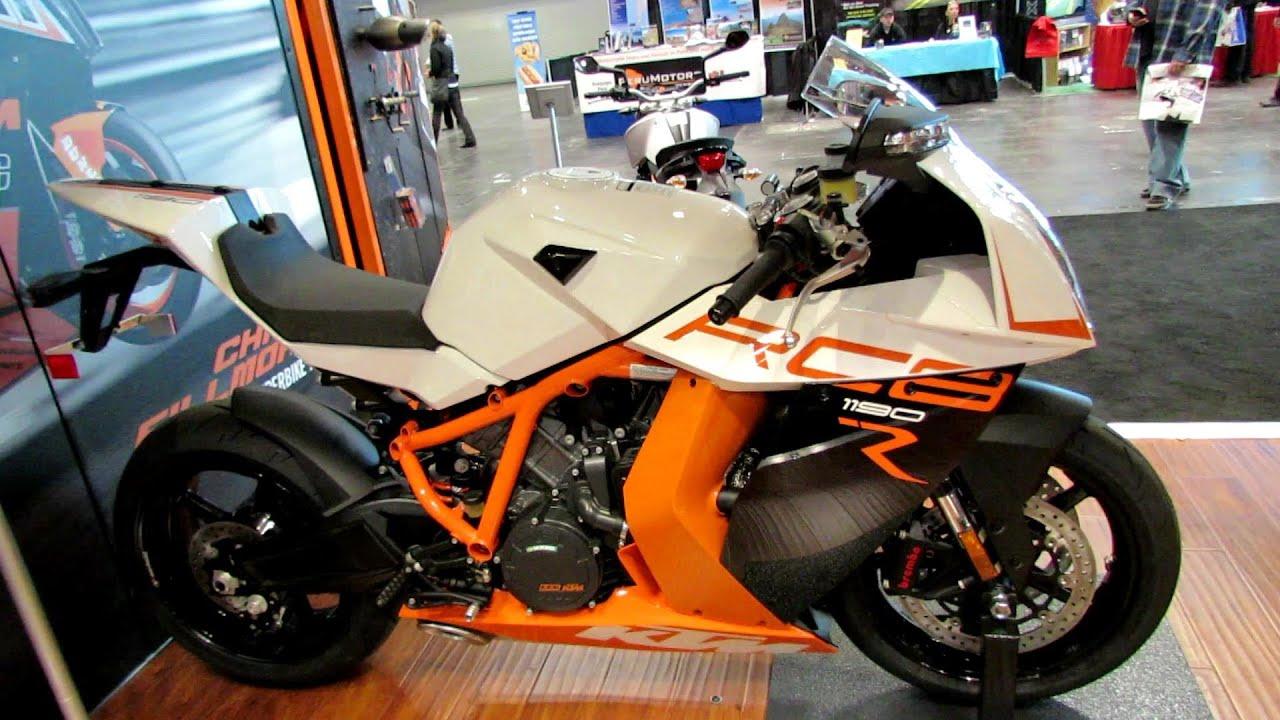 2014 KTM RC8 1190R Walkaround - 2013 New York Motorcycle Show - YouTube