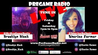PreGame Radio with Brooklyn Black & Sharice Farmer Season 12 Episode 16