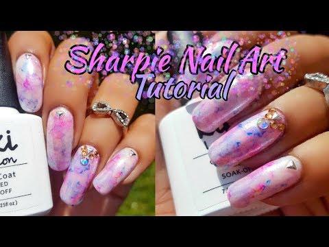 Sharpie Nail Art Tutorial thumbnail