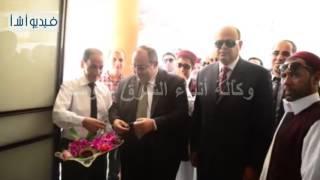 بالفيديو :   أبو زيد  يفتتح مبنى المدينة الجامعية لطلاب مطروح بالإسكندرية بعد تطويره