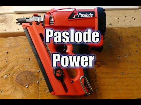The Home Depot PROspetive - Paslode Nailers - YouTube
