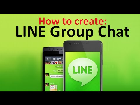 How To Create Group Chat On Line App For Android Phones Youtube