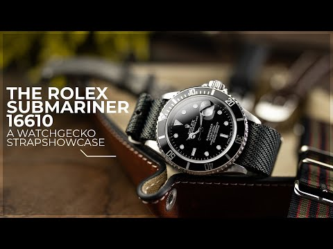 The Must Have Watch Straps For The Rolex Submariner 16610 | A WatchGecko Strap Showcase