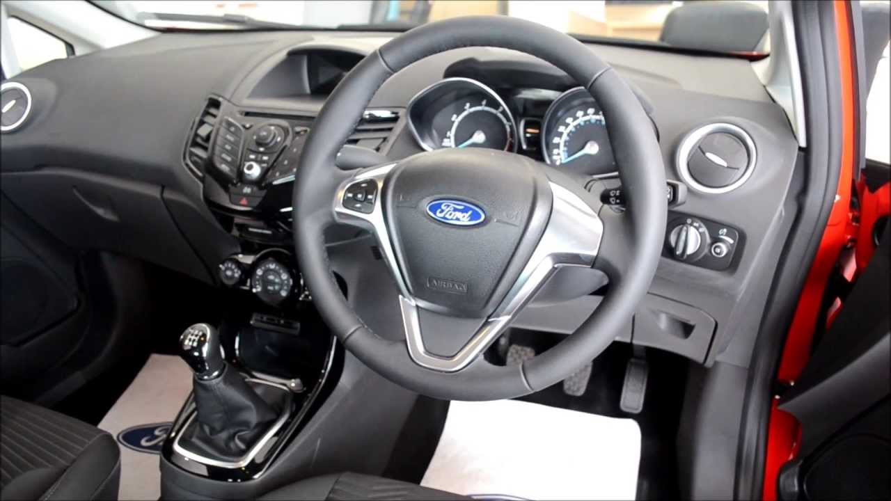 Ford Fiesta Zetec Interior 2013 New Model Youtube