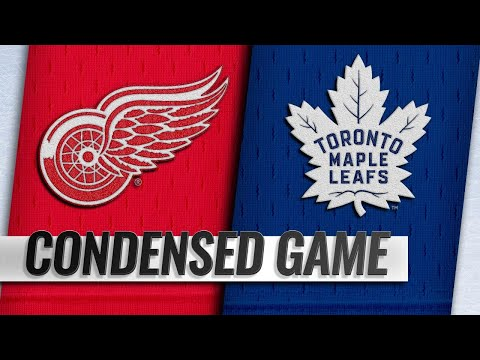 12/23/18 Condensed Game: Red Wings @ Maple Leafs