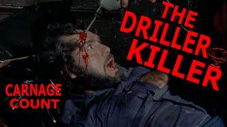 The Driller Killer (1979) Carnage Count