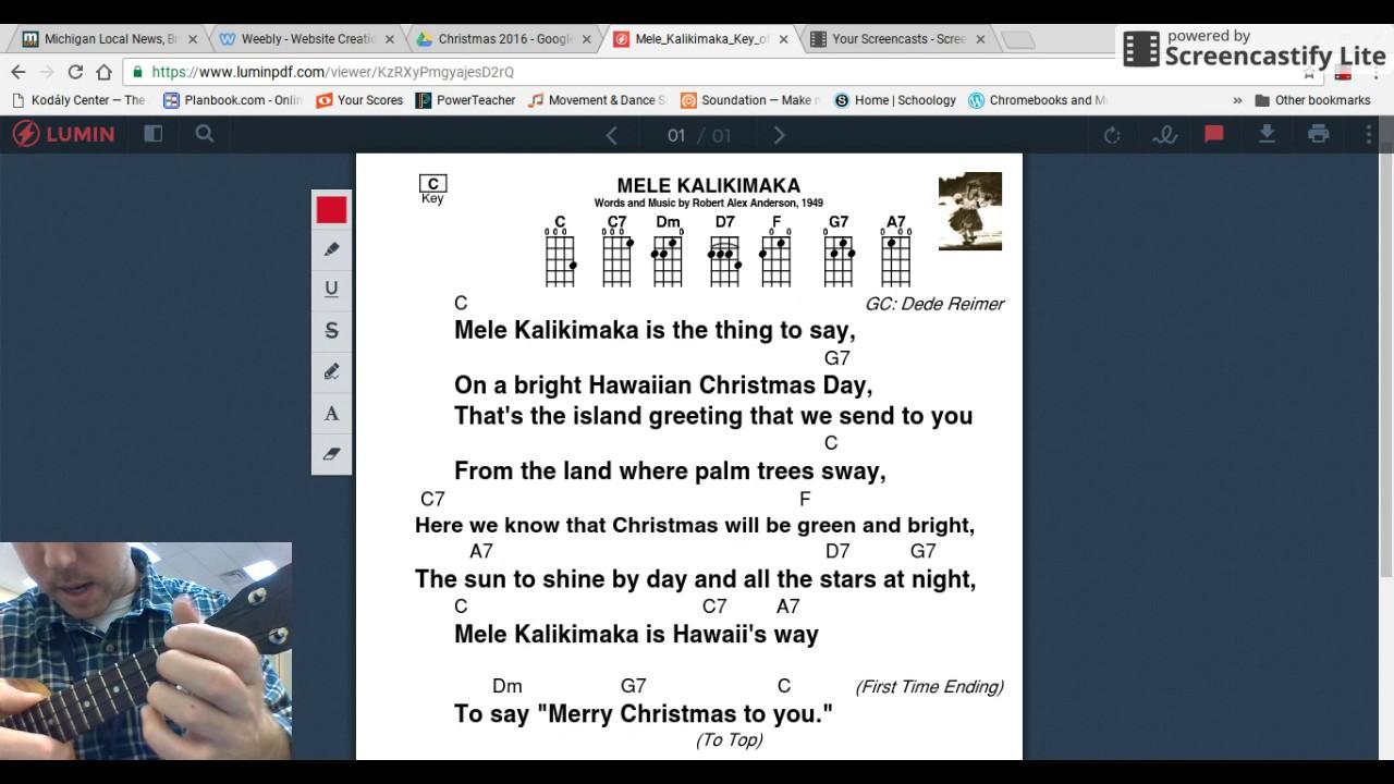 Ukulele hawaiian christmas youtube ukulele hawaiian christmas m4hsunfo
