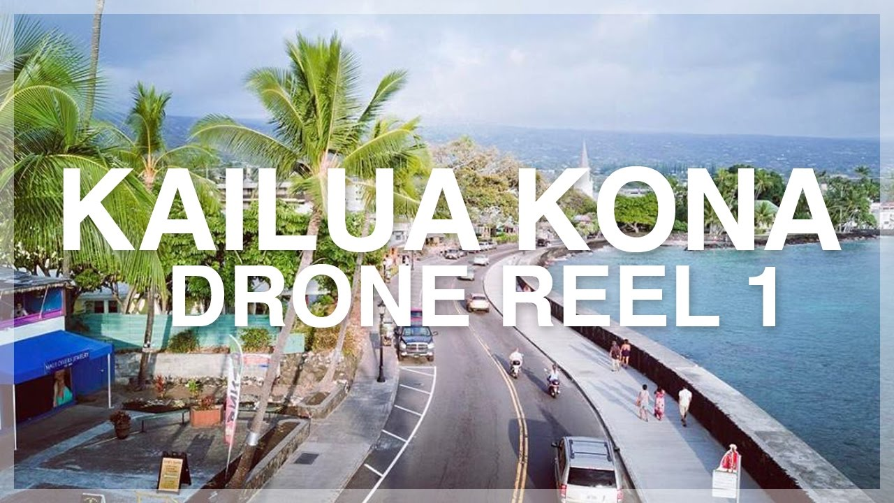 kailua kona drone reel 1 hawaii by sky youtube