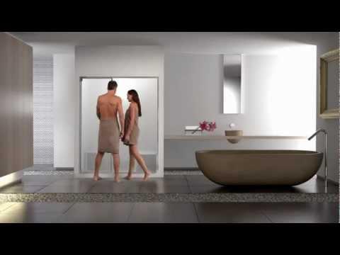 Bagno turco a casa con aquasteam di effegibi youtube - Bagno turco in casa ...