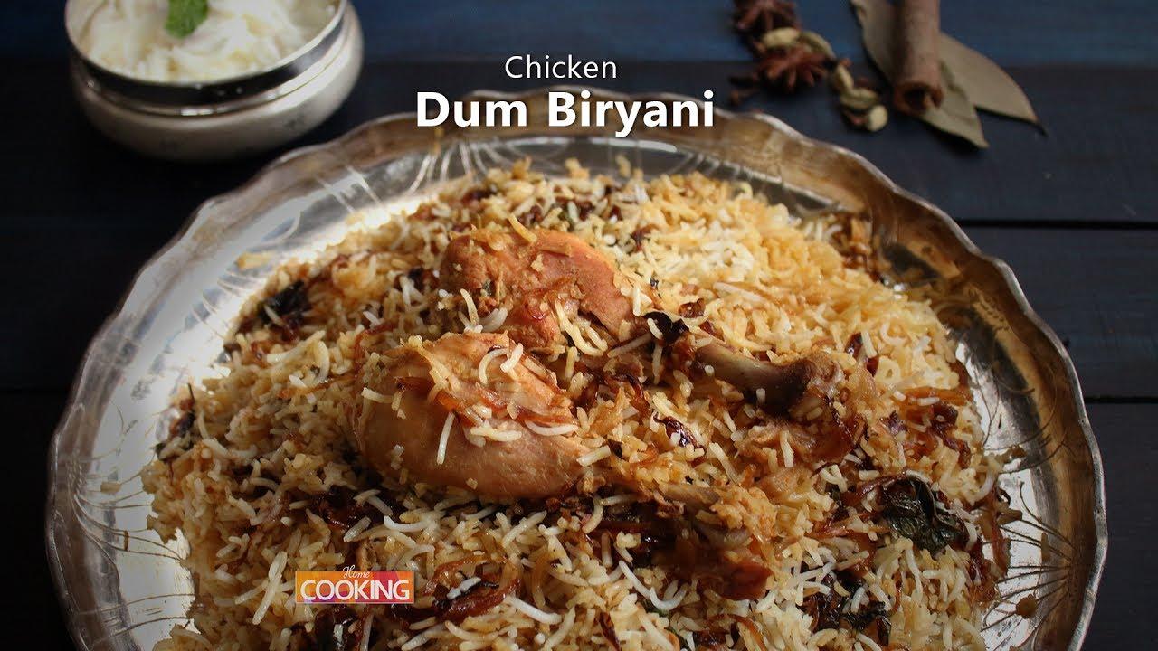Chicken Dum Biryani Ventuno Home Cooking Youtube