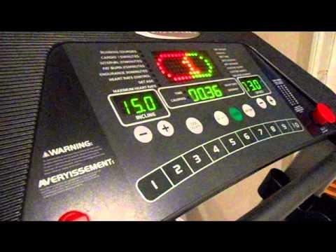 ednurance treadmill error code 6