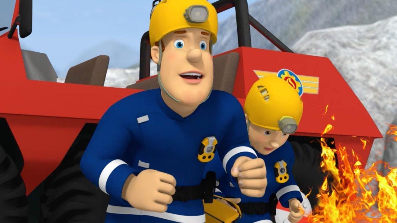 Lavoro di squadra sam va in vacanza 🔥 il pompiere