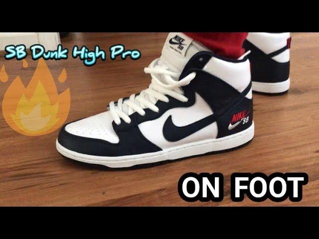 Nike SB Dunk High Pro- Obsidian Vs