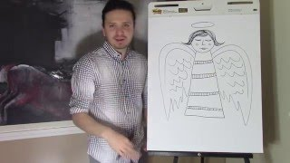 How to draw an Angel with Ramon Carrasco