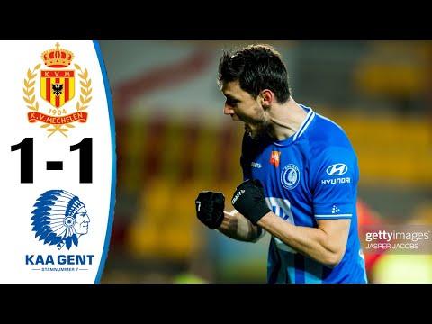 Mechelen Gent Goals And Highlights