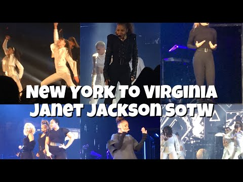 New York To Virginia | Janet Jackson State Of The World Tour