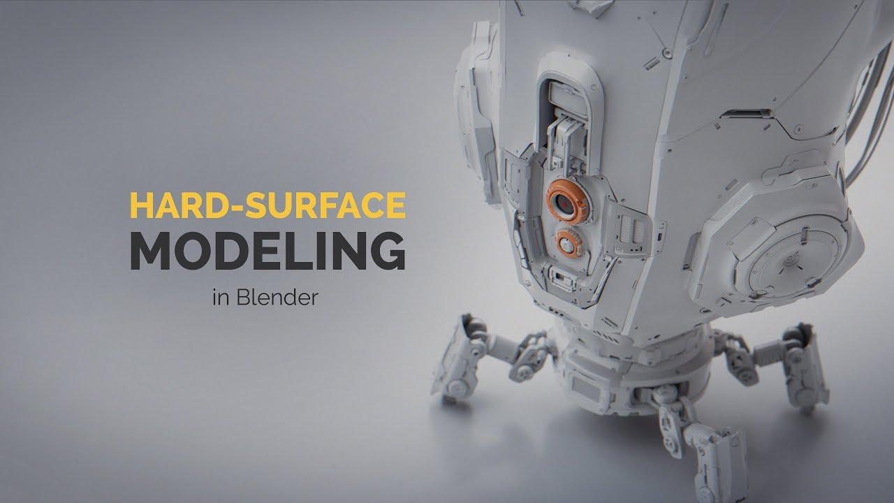 Hard-surface Modeling in Blender Intro!