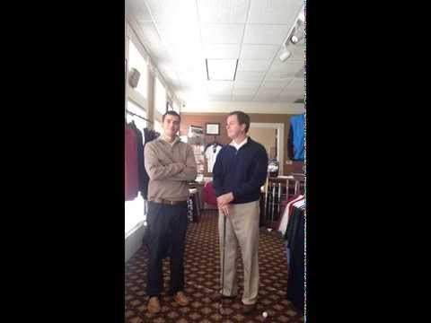 Indoor Golf Drills – Preventing the Dreaded Chunky Chip Shot – The Bob & Thomas Show – Video 4