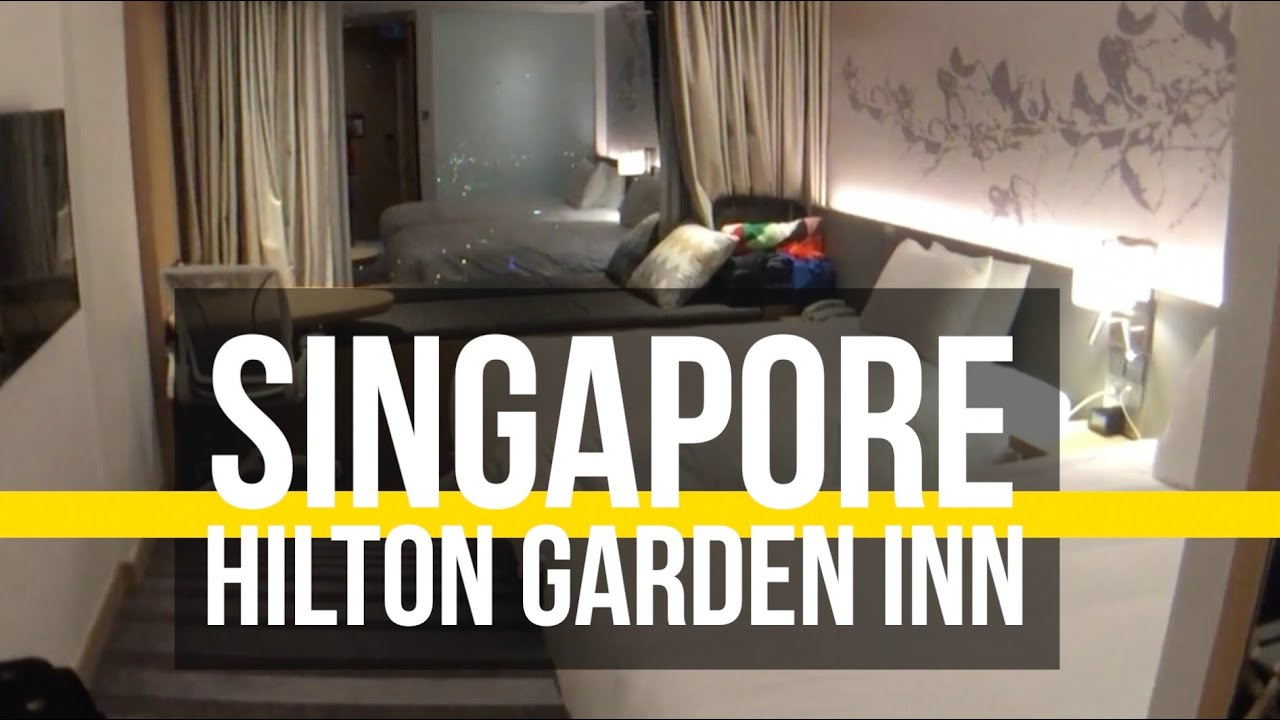 Hilton Garden Inn Singapore Room Tour Youtube
