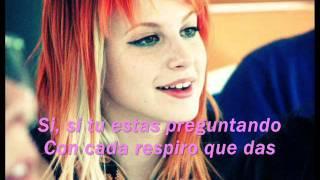 Paramore Fences Subtitulado En Español