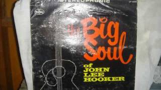 She Shot Me Down-John Lee Hooker and Greg Tibbits on Alto Sax