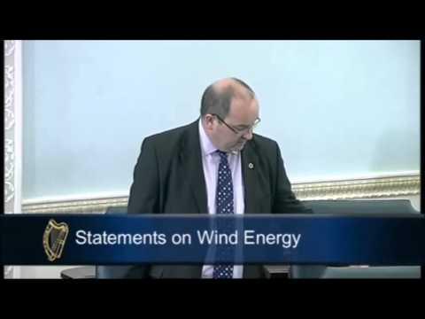 Statements on Wind Energy - Seanad Eireann 15/05/13 - Senator Trevor Ó Clochartaigh