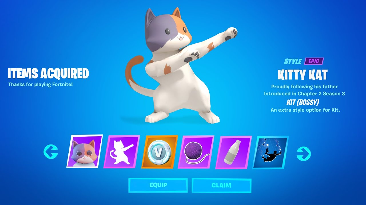 Fortnite All Boss Kit Challenge Reward Till Week 7 Youtube