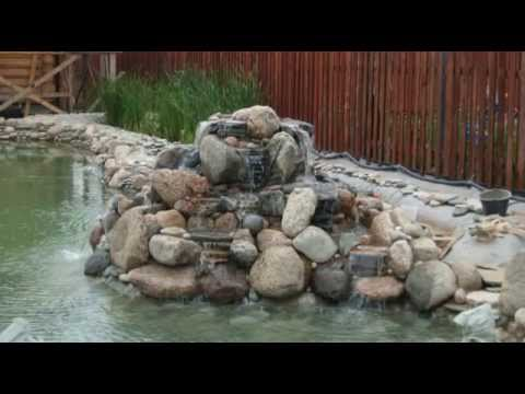 Как построить эко пруд своими руками