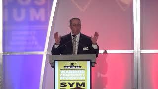 Jim Lorraine Air Force Vet & American Warriors Partnership CEO closing remarks at Symposium