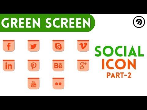 Green Screen Social Icon | mrstheboss