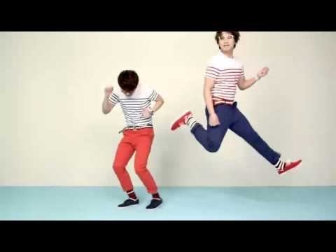 Kyuhyun and Sungmin for SPAO - All Stripes Stylish