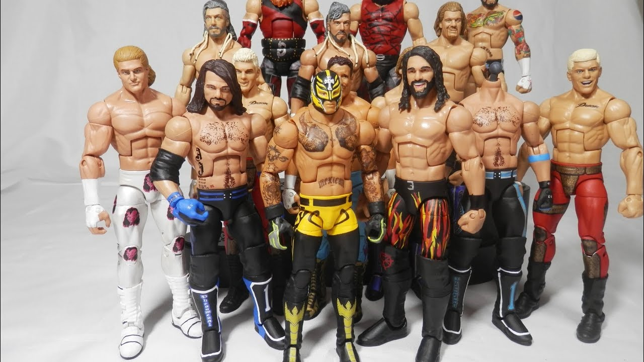 Wwe 2018 royal rumble elite figures rey mysterio aj for Custom elite com