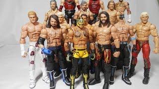 WWE 2018 Royal Rumble Elite Figures - Rey Mysterio - AJ Styles - Rollins   WWE Mattel Custom Figures
