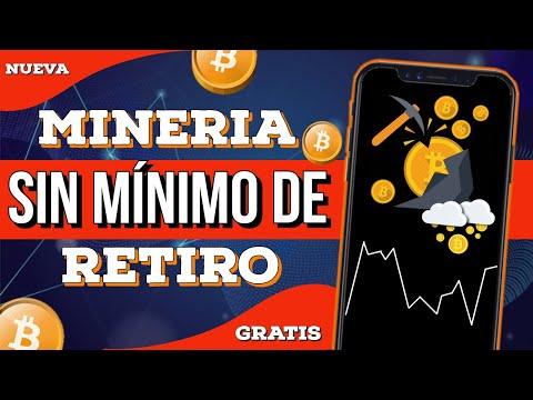 ✅NUEVA MINERIA EN LA NUBE🚀 SIN MINIMO DE RETIRO Para Ganar CRIPTOMONEDAS GRATIS 2021