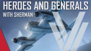 New German Me 410! - Heroes and Generals Gameplay (ft. The Shermanator)