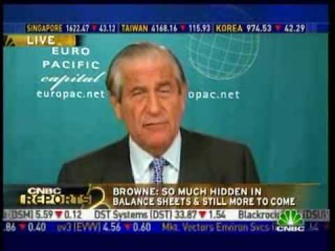 John Browne from Peter Schiff's Euro Pacific Capital on CNBC