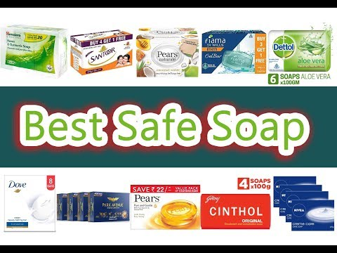 Best Safe Soap In India With Price 2019 // Non Toxic Soap 2019