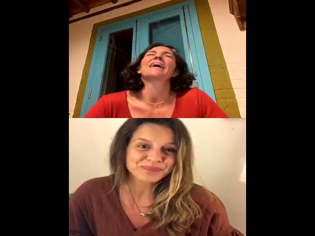 Ciclos de lives - Conversas com Larissa Caldin e Flávia Amaral.