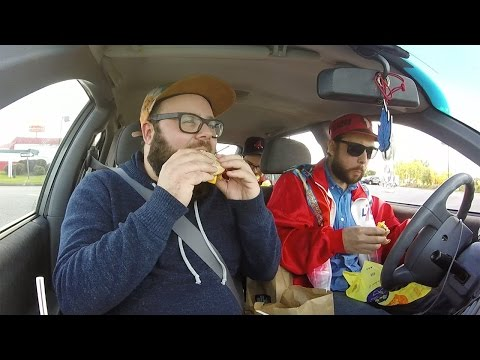 Four brave Canadians cross the U.S. border to get #AllDayBreakfast at McDonald's (English subtitles)