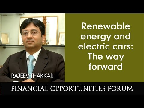 Renewable energy and electric cars: The way forward