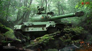 танкосмотр2020 #40. Китай. Средние танки (веткa 121)  World of Tanks