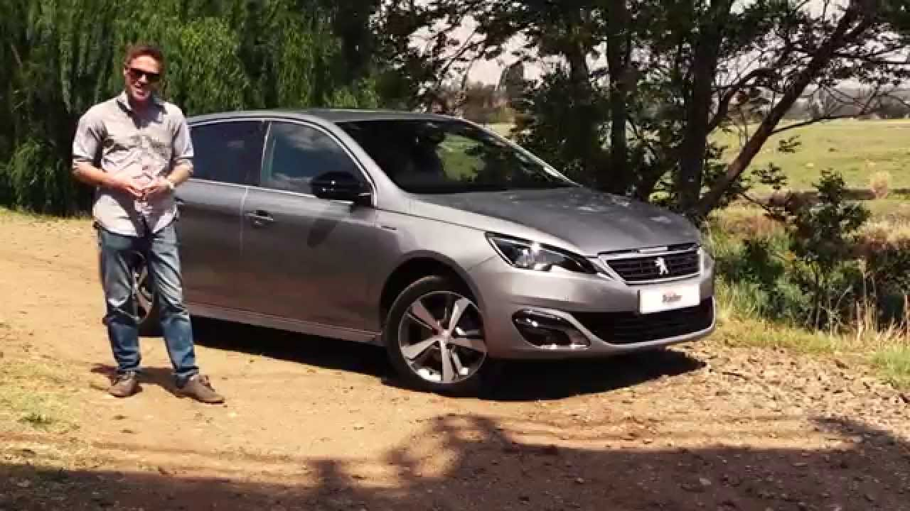 Peugeot 308 GT Line - Car Review - YouTube