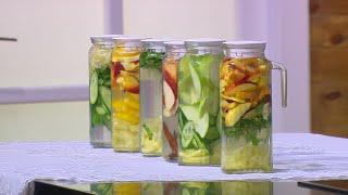 مشروب التفاح الأخضر والجنزبيل | سالي فؤاد