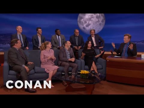 """The """"VEEP"""" Cast On The Show's Most Hurtful Insults  - CONAN on TBS"""