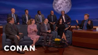 "The ""VEEP"" Cast On The Show's Most Hurtful Insults  - CONAN on TBS"
