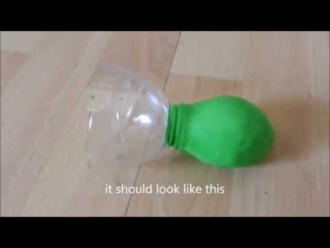 HOW TO MAKE A PEA SHOOTER